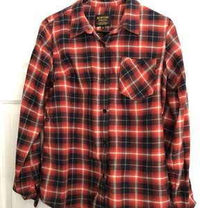 Burton plaid shirt